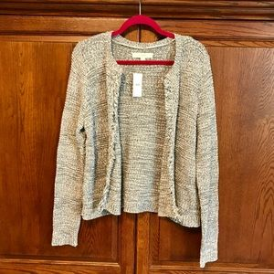 🆕 LOFT open-front Cardigan Sweater - NWT